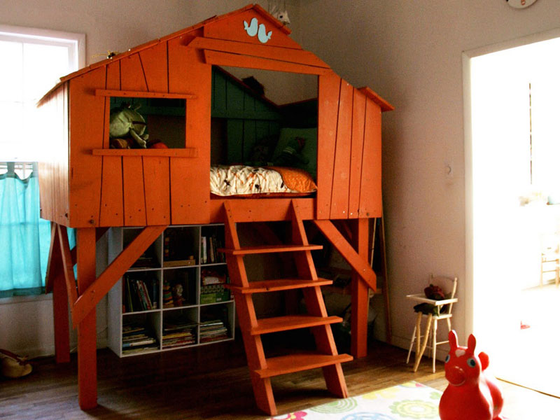 Image of: Treehouse Bunk Bed Coat