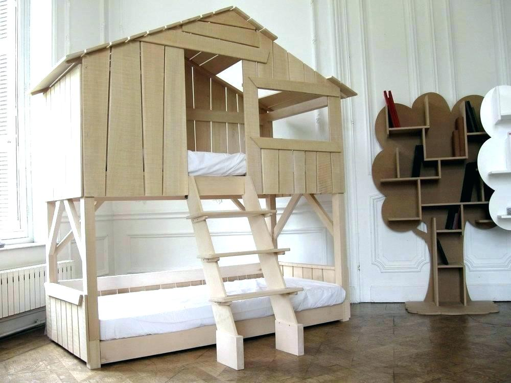 Image of: Treehouse Bunk Bed Model