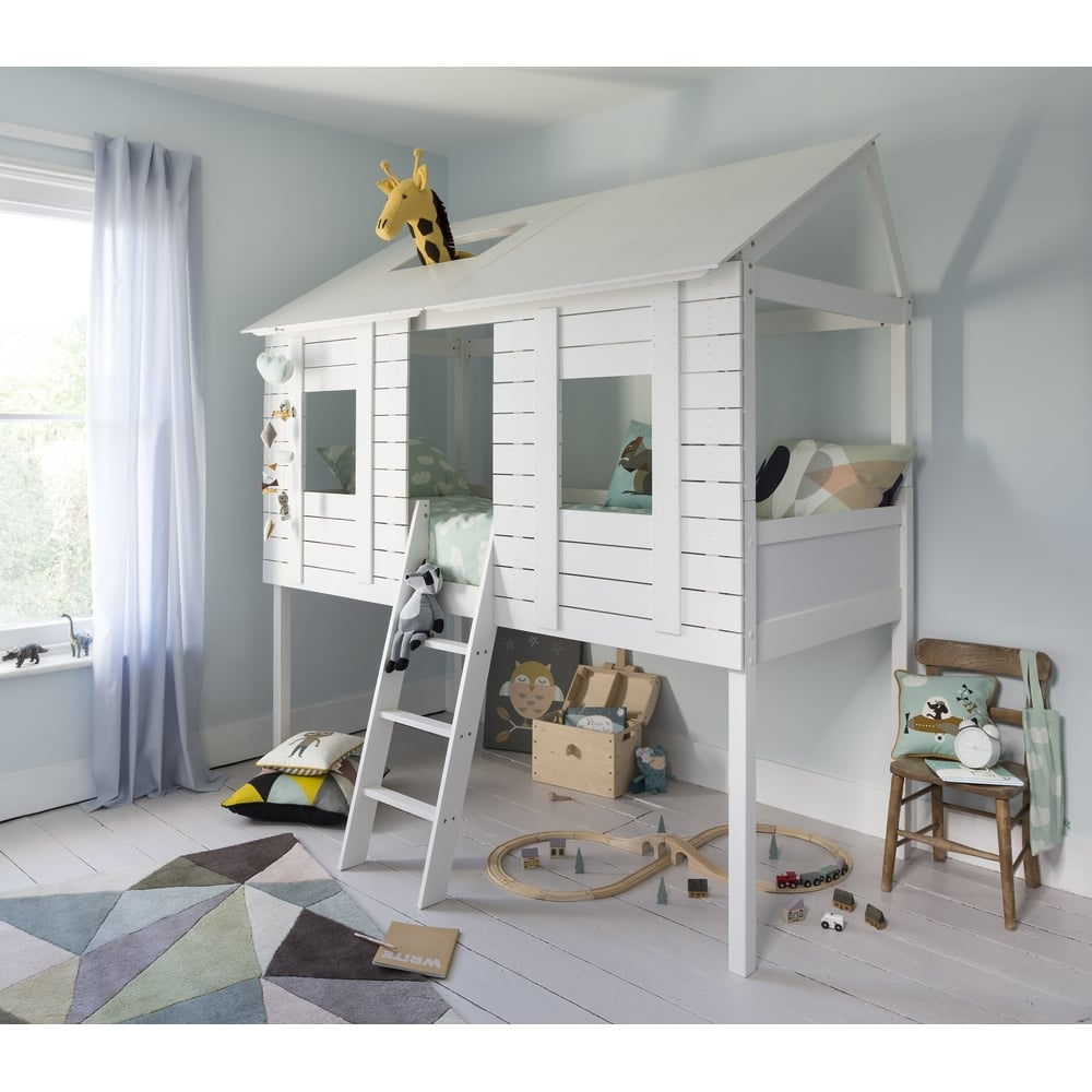 Image of: Treehouse Bunk Bed Modern