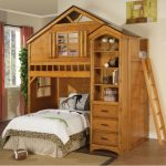 Treehouse Bunk Bed Wood