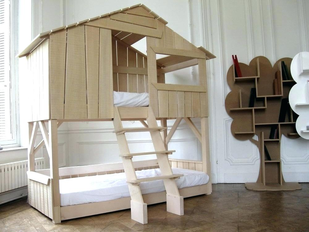 Image of: Treehouse Loft Bed Plans