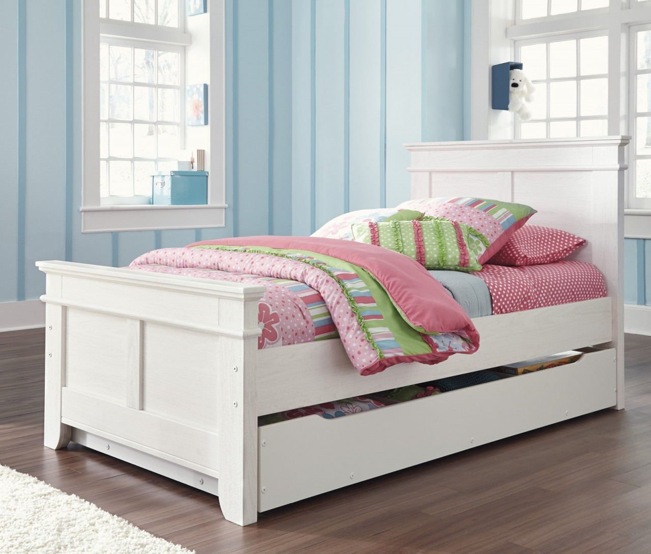 Image of: Twin Bed with Trundle Design