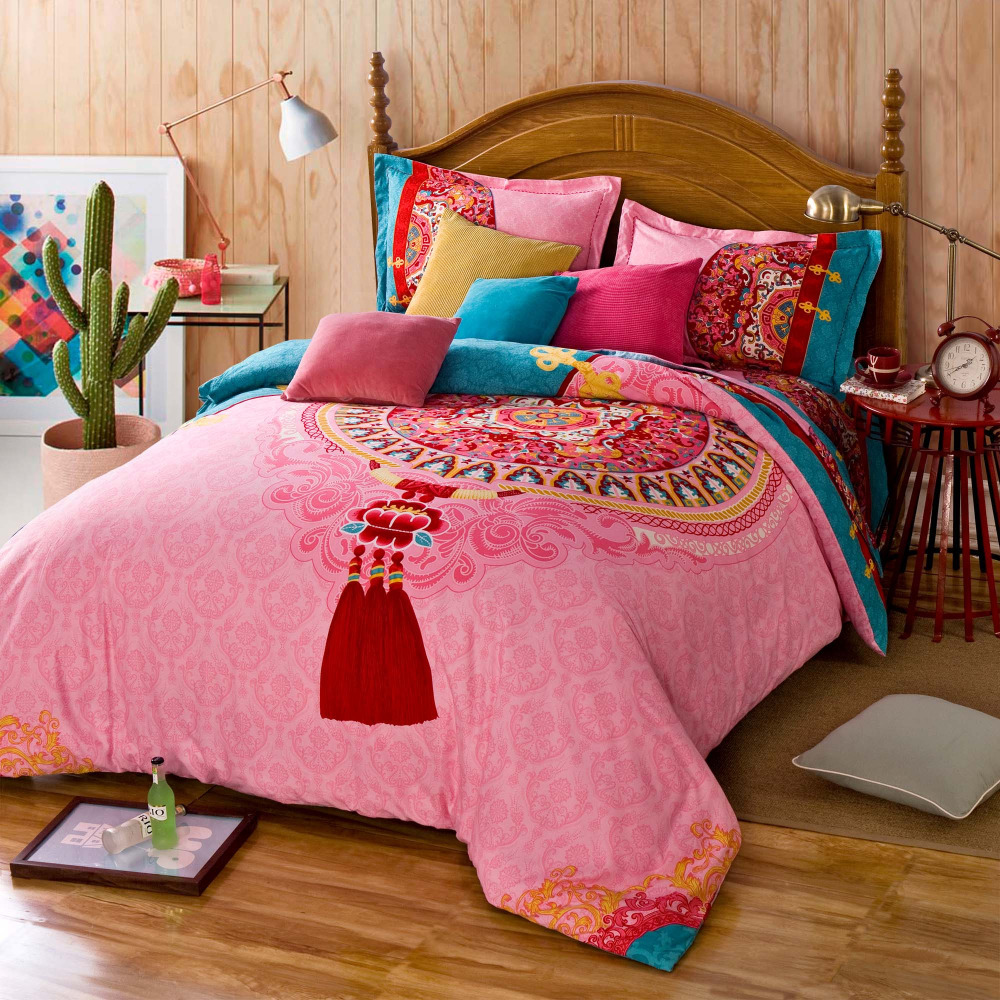 Image of: Twin Bohemian Bedding Sets