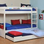 Twin Kids Bunk Beds with Trundle