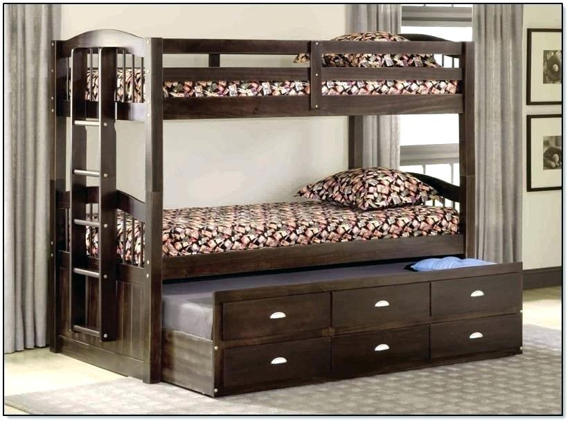 Image of: Twin Over Bunk Beds with Trundle