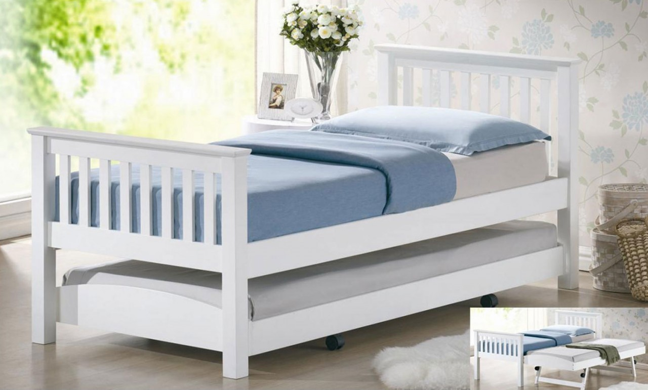 Image of: Twin Pop Up Trundle Bed