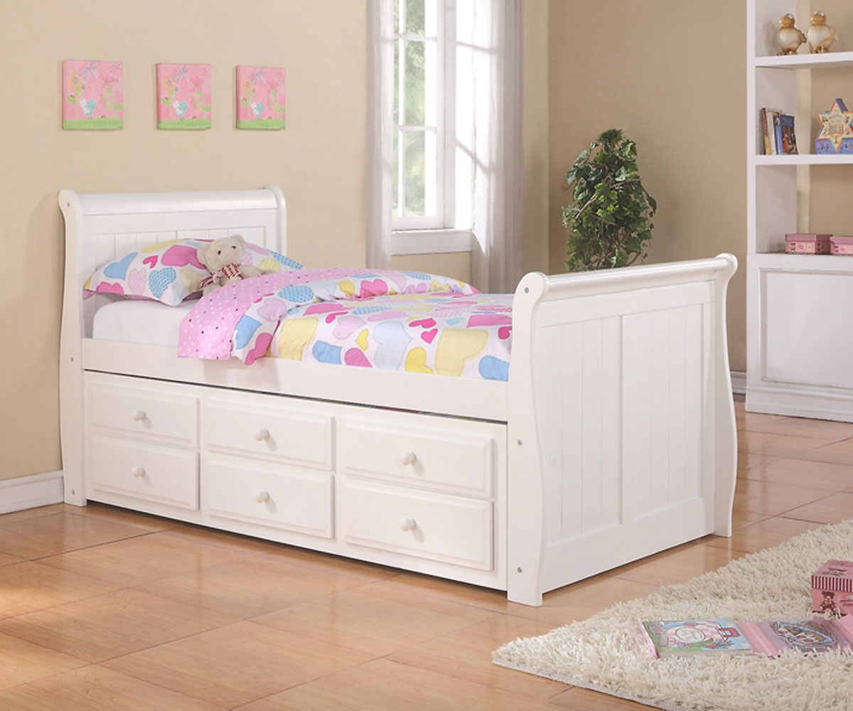 Image of: Twin Trundle Bed Furniture