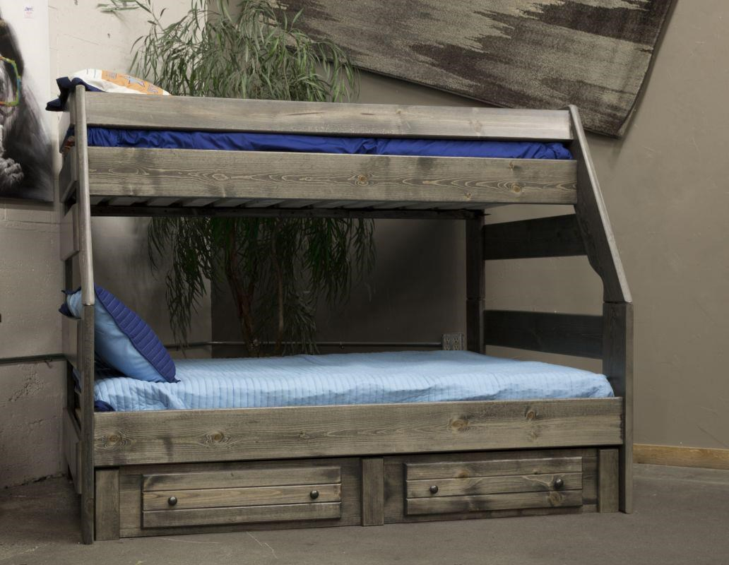 Image of: Vintage Full Bunk Bed