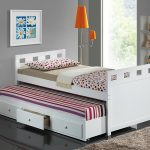 White Kids Trundle Beds