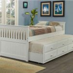 White Trundle Beds