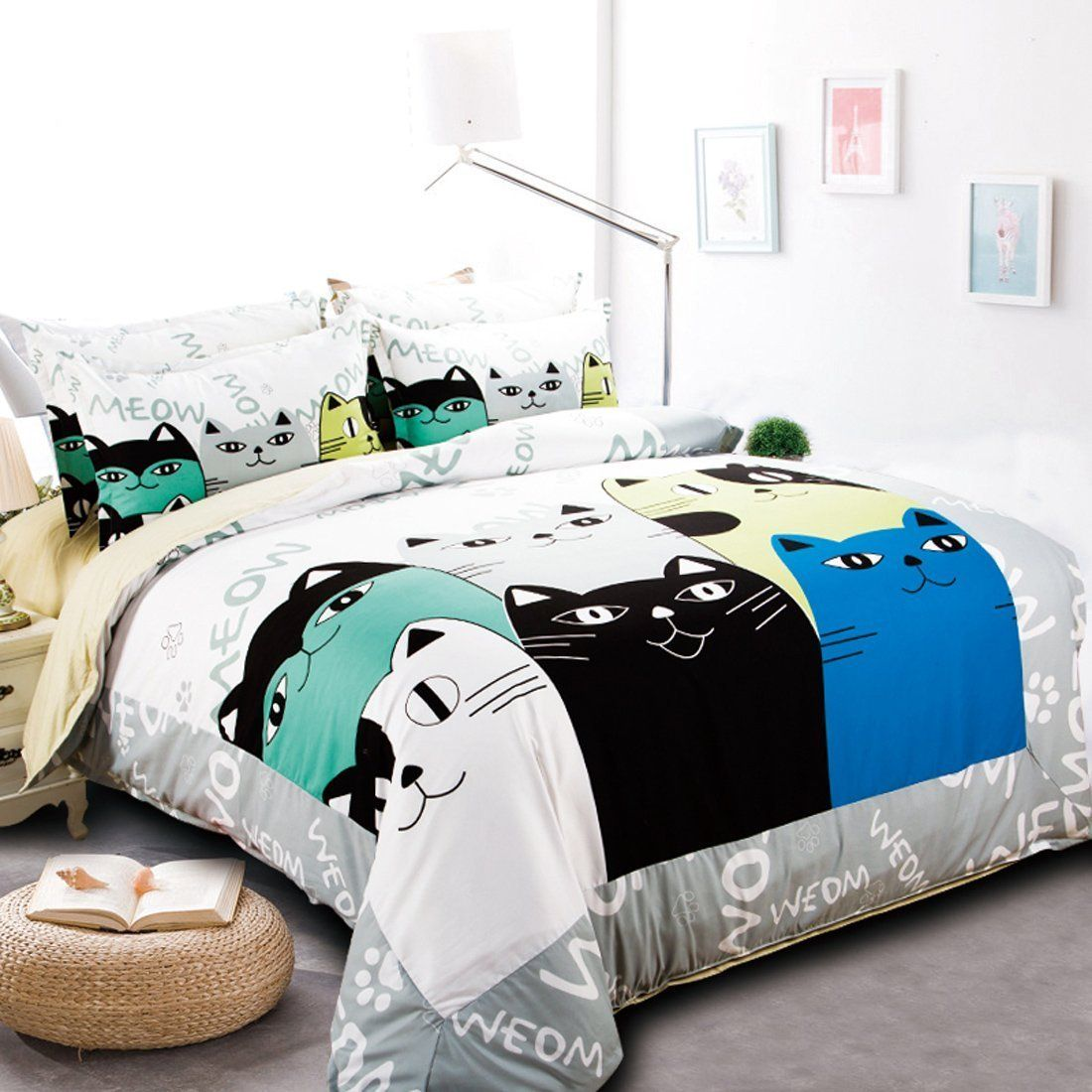 Image of: Wonderful Cat Bedding Sets