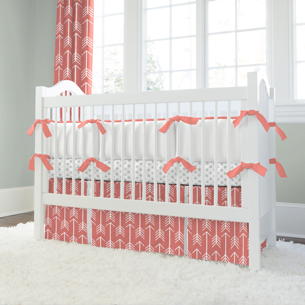 Image of: Wonderful Coral Baby Bedding