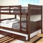 Wood Bunk Bed With Trundle