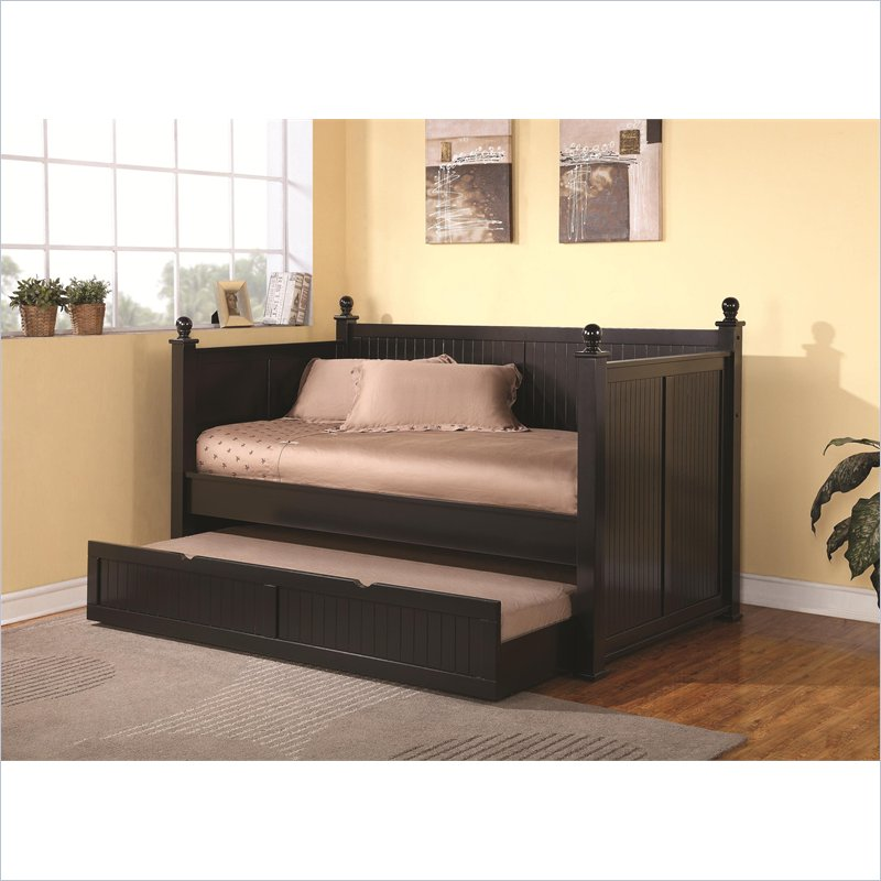 Wood Day Beds with Trundle