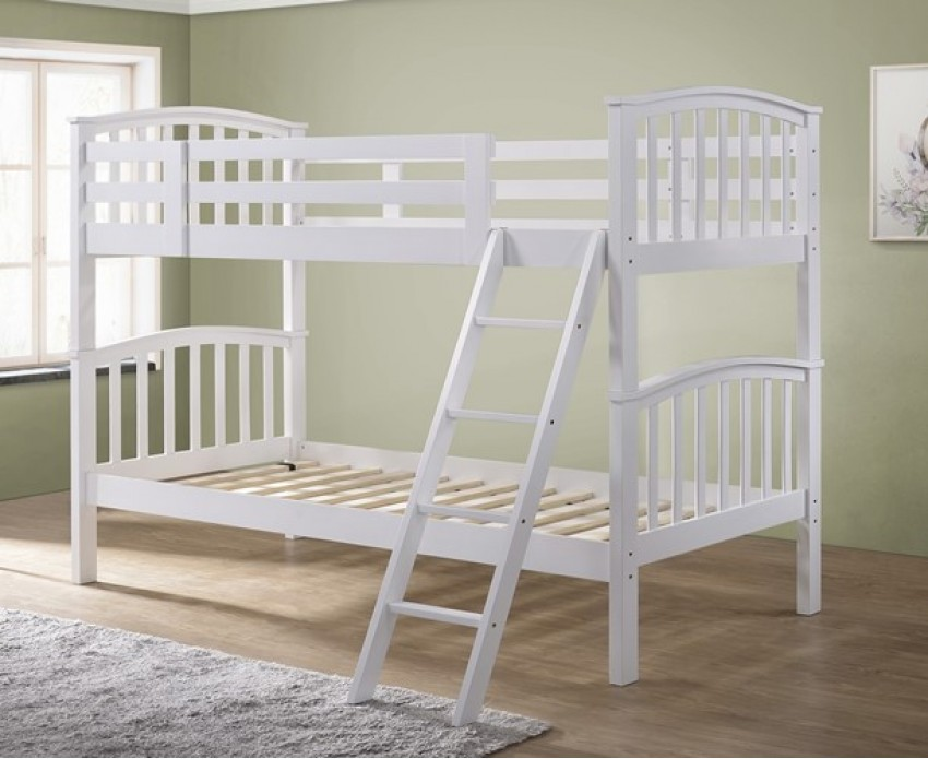 Image of: Wood Single Bunk Bed