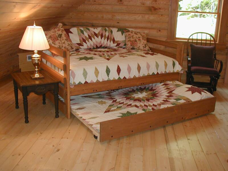 Wooden Full Size Trundle Beds for Adults