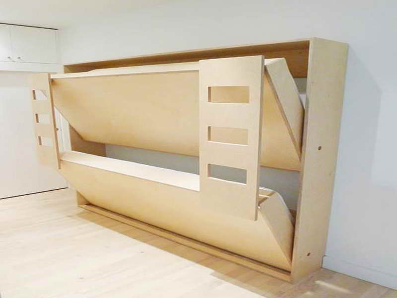 Wooden Wall Bunk Beds