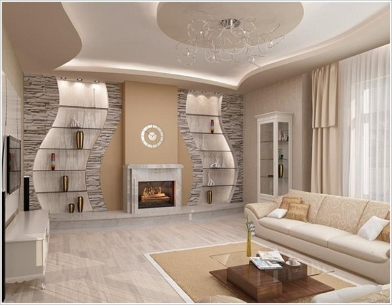 Image of: Accent Wall Ideas For Small Living Room