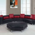 Black And Red Living Room Set