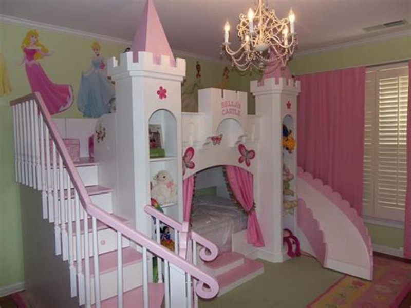 Image of: Custom Princess Bed Sets For Girl