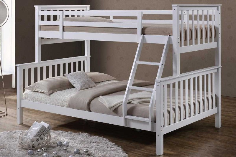 Image of: Double And Single Bunk Bed