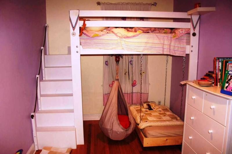 Image of: Ikea Bunk Bed Ideas Using Toddler Beds