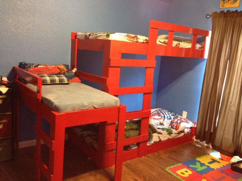 Image of: Ikea Bunk Beds Twin Toddler