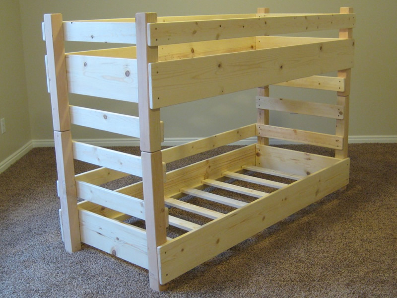 Image of: Ikea Toddler Size Bunk Beds