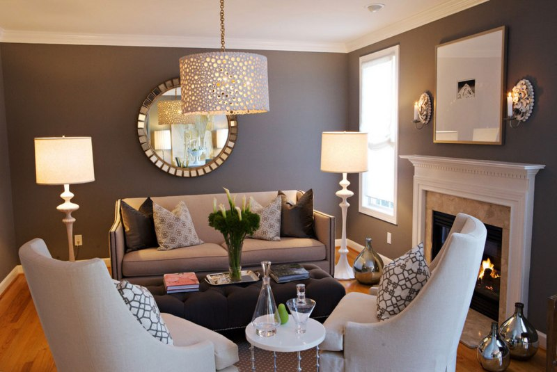 Image of: Living Room Designs Small Spaces