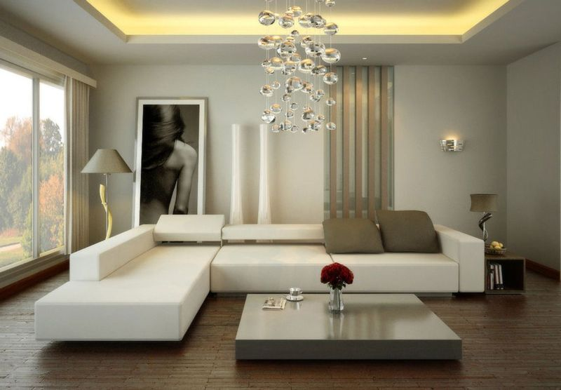 Image of: Modern Living Room Ideas For Small Spaces