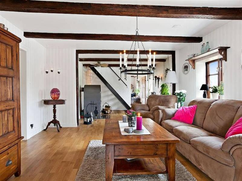 Image of: Modern Rustic Living Room Pictures
