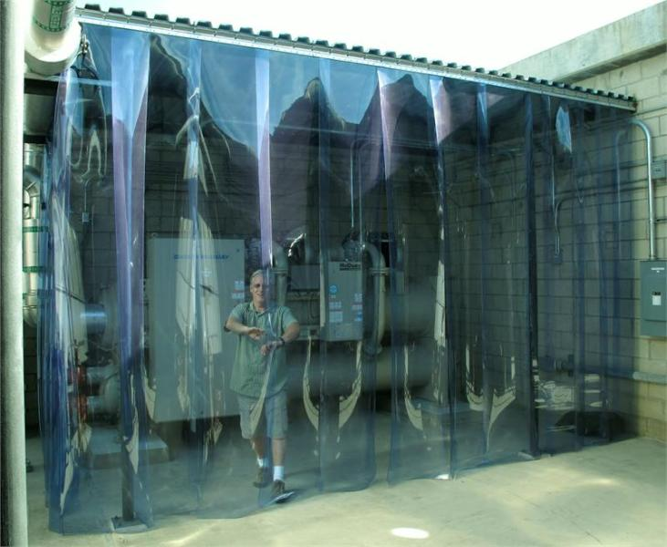 Image of: Plastic Curtain Wall