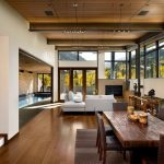 Rustic And Modern Living Room