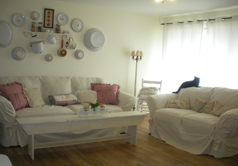 Image of: Shabby Chic Decorating Ideas Living Room