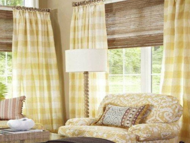 Image of: Shabby Chic Living Room Curtains