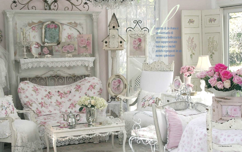 Image of: Best Shabby Chic Living Room Ideas