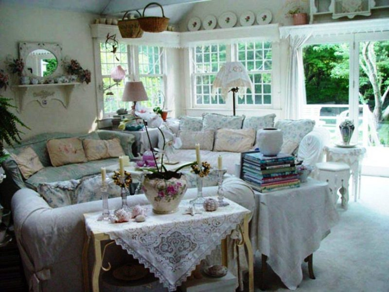 Image of: Shabby Chic Living Room Pictures