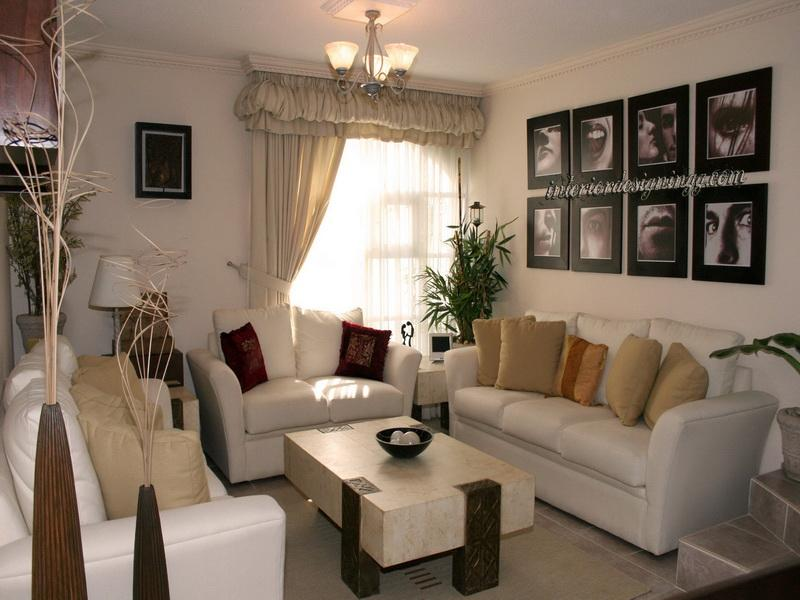 Image of: Simple Living Room Decorating Ideas