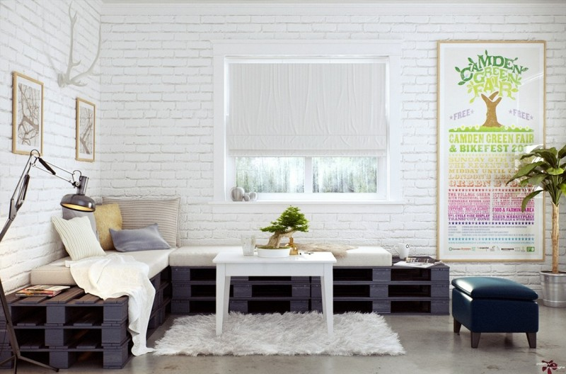 Image of: Simple Living Room Wall Decor Ideas
