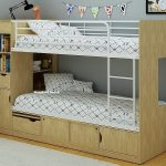 Single Bunk Bed With Storage