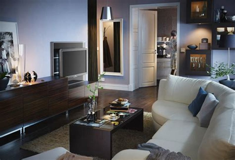 Image of: Small Living Room Ideas Ikea