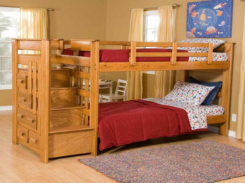 Image of: Sturdy Bunk Beds For Kids