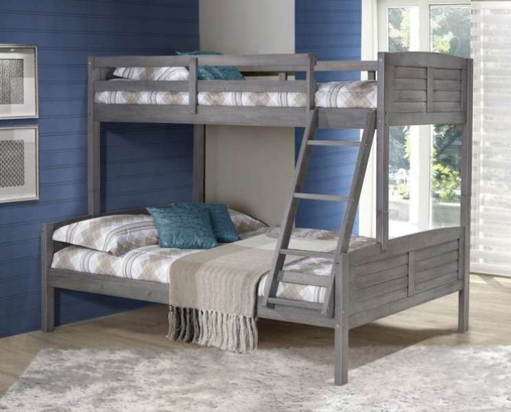 Image of: Sturdy Bunk Beds Twin Over Full