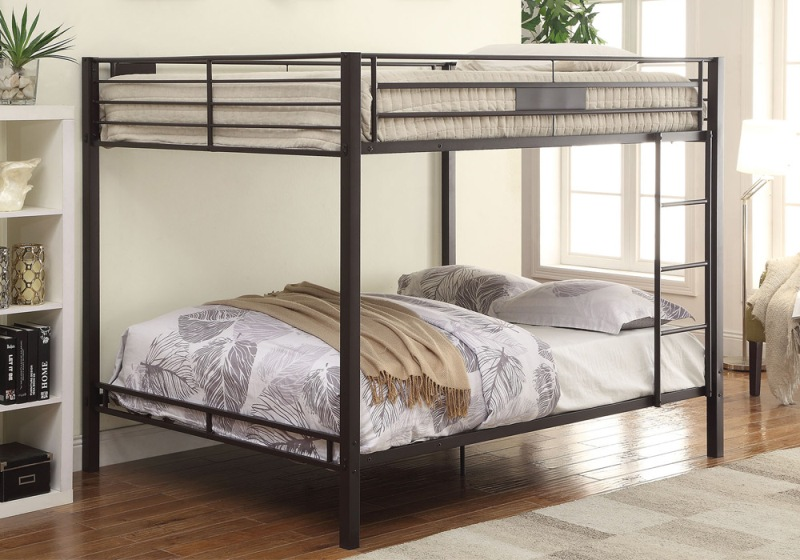 Image of: Sturdy Metal Bunk Beds