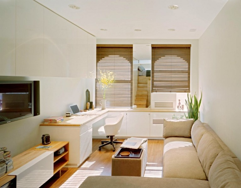 Image of: Tiny Apartment Living Room Ideas