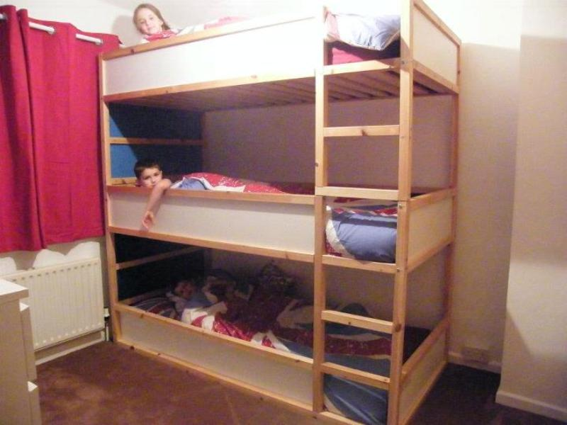 Image of: Toddler Bunk Beds Ikea Hack