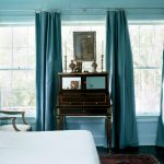 Turquoise Curtains Living Room