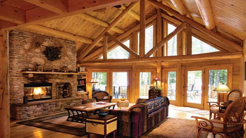 Image of: Very Tiny Living Room In Cabin Ideas