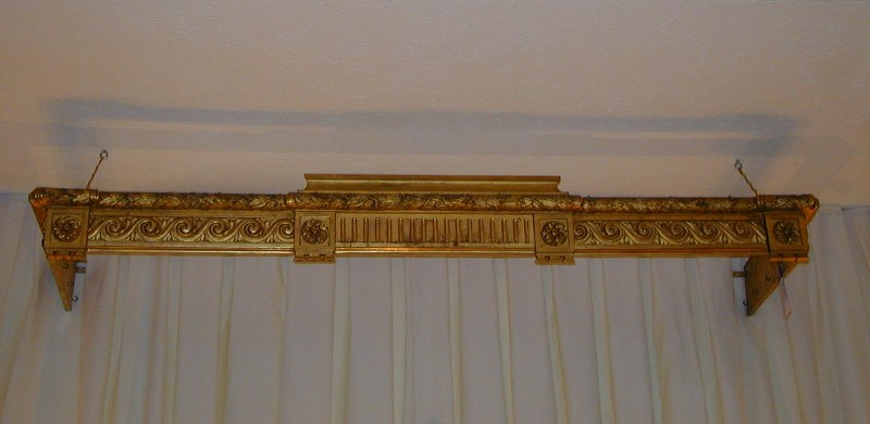 Image of: Wood Curtain Rods With Silver Finish